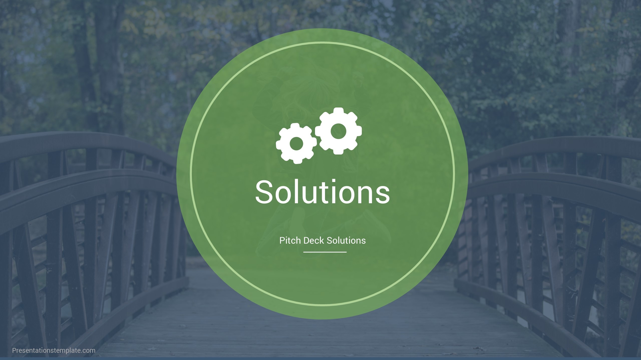 Pitch deck solution, business solution examples, pitch deck solution slide
