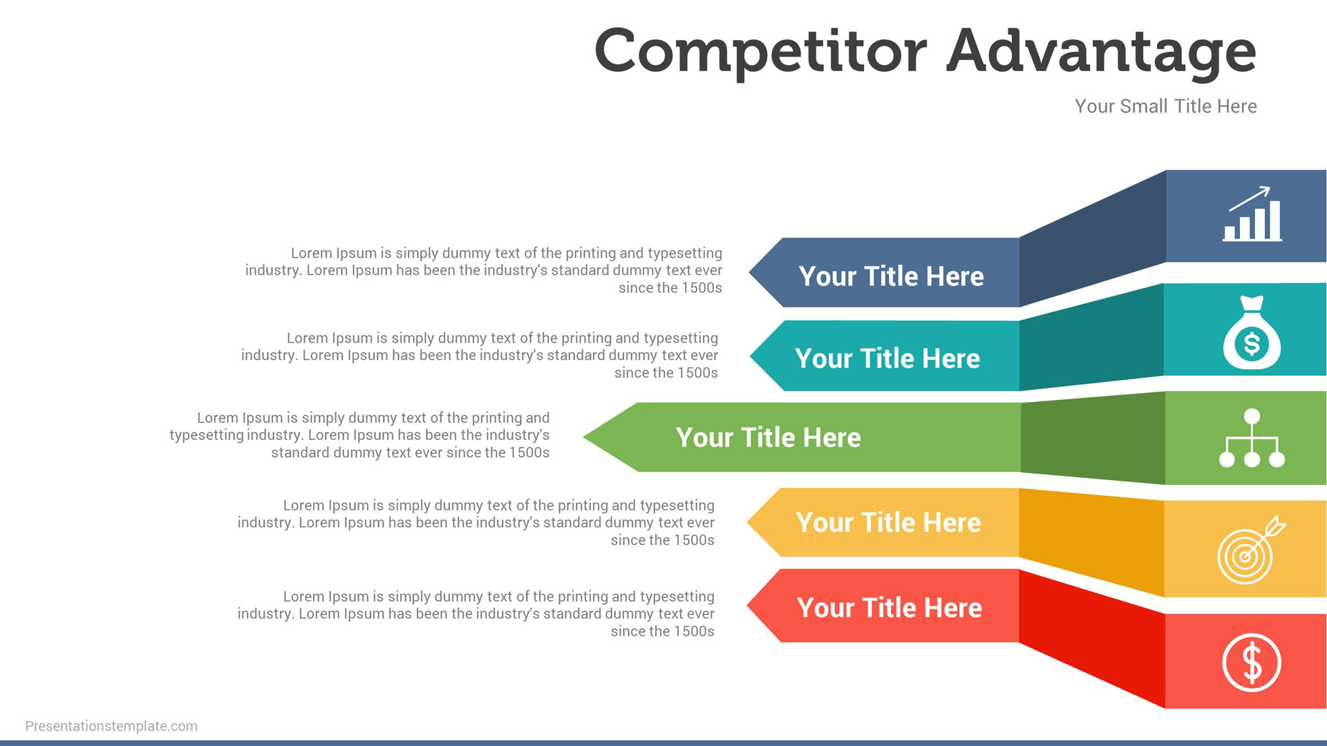 competitive advantages presentations template