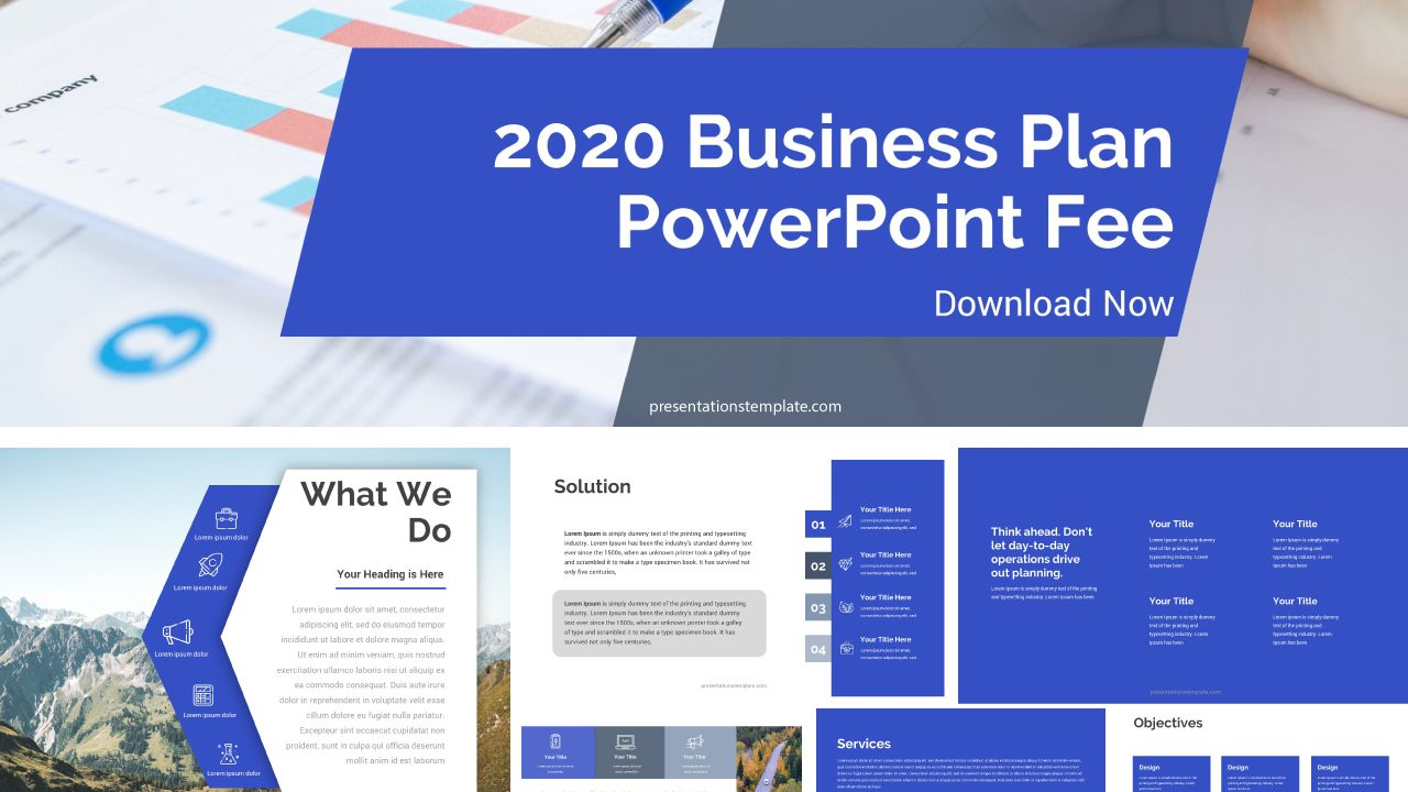 2020 Business Plan Powerpoint Templates For Free Presentations Template,Pakistani Designer Dresses Online Shopping